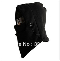 skg007 free shipping Windproof face mask winter cs cap ride wigs muffler scarf hat fleece hat double layer thickening