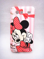Cute cartoon Minnie shell for Samsung I9070 Galaxy S Advance  High Quality Cell Phone Case Silicone