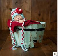 Baby style cap handmade baby hat cap striped hat bianzi large cap
