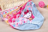 FREE SHIPPING girls underwear children's kids baby's underwear 6 pcs/lot (different colour)