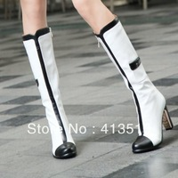 2013 brand New fashion knight female over knee high heel boots for women boots and women's autumn winter shoes