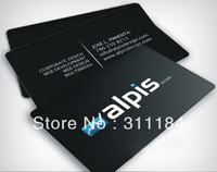 Full Colour Custom Plastic PVC business card name staff visiting cards both sides printing 0.38mm matt finish