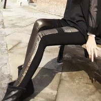 Sexy Free shipping  lady's show thin leggings for women  winter joining together legging wholesale K631