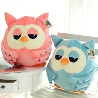 Korean owl thermal pillow cushion plush toy doll birthday gift
