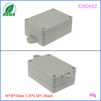 Free shipping small plastic enclosures wall mount enclosure abs plastic box  junction box 85*58*33mm 3.35*2.36*1.38inch