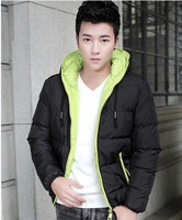 Free shipping!!! fashion Men's winter overcoat down coat men Winter down jacket 2 colors M-XXXL wholesale