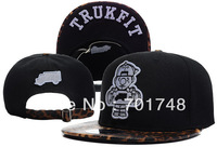 Cool Trukfit Leopard Obey Print Snapback Baseball Basketball with high quality