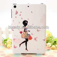 20pcs/lot Free Shipping Wholesale flower hard cover case for ipad mini2
