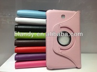 1pcs/lot&Free shipping hot selling 360 degree rotating Lychee Leather stand Case for Samsung galaxy tab 3 7.0 T210 T211