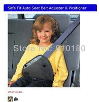 Safe fit thickening car safety belt adjust device baby child safety belt protector seat belt positioner 2-14years