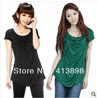 new design female short sleeve t-shirt fashionable causal women t-shirt  wholesale women clothing freeshipping