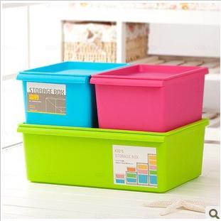 Home Furniture Multi-colored sn1395 brief storage box finishing box storage box(China (Mainland))