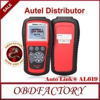 New 2014 AUTEL AutoLink AL619 ABS / SRS + OBDII CAN  Tool AutoLink AL-619  Tools Electric obd2 Auto Diagnostic Tool