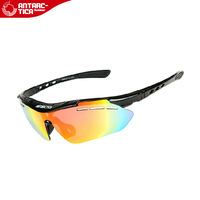 Tr90 material outside sport ride antimist polarized glasses 6 lenses