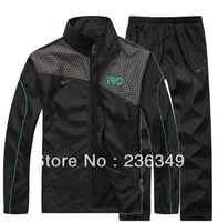 hot sale classic mens casual sportswear with coat and pants sport suit 4 color free shipping size L-4XL