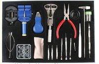 20pcs Horologe Wrist Watch watchmakers Case Opener Repair Tools Set Kit, free shipping ZF239