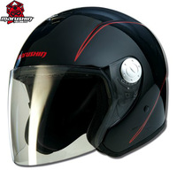 Marushin anti-uv motorcycle electric bicycle helmet c147 black and red