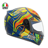 Motorcycle helmet automobile race rossi agv k3
