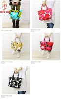 FREE SHIPPING marimekko flowers shopping bag messenger shoulder bags canvas lovely sakura  for girls and women candy color