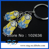 Free shipping!Wholesale lots The Despicable Me Minion Stuart keychain