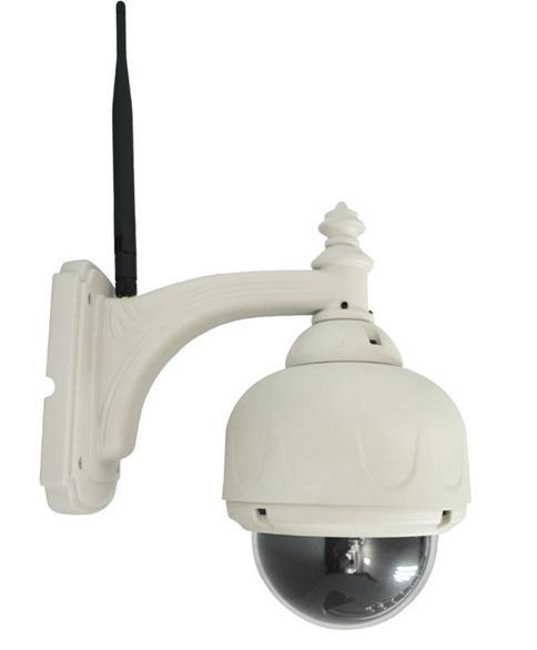 outdoor pan tilt wifi ip camera waterproof dome ip camera Dome PTZ IP Camera F-M10R ,wireless camera(China (Mainland))