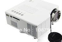 DHL EMS freeshipping UC28 PRO Portable HDMI Projector with Remote Control  with retail package with 10pcs/lot