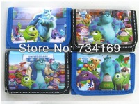 Monsters University James P. Sullivan Wallt Purse Wallets & Holders wholesale 12 pcs Free shiping