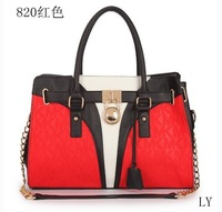 2013 New bags women famous brands women messenger bag Shoulder women leather handbags Fashion women Genuine leather bags