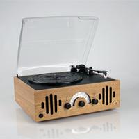 New retro record player/LP vinyl machine/AM/FM radio/boutique phonograph
