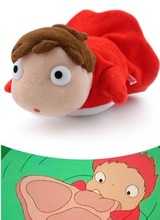 "Miyazaki Hayao figure PONYO 4"" Plush Doll By The Cliff Soft Toy Studio Ghibli free shipping(China (Mainland))"