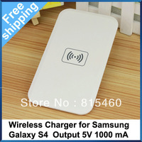 Free Shipping Wireless Charger Qi Standard USB Port for Samsung Galaxy S4 Nokia Lumia 920 820 LG Nexus 4 Charger Pad with cable
