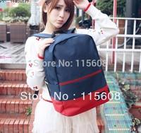 middle school students school bag double-shoulder female preppy style