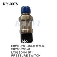 Kobelco Excavator Parts KY-0078  Kobelco  high -pressure sensor SK200/230-8  Kobelco SK high pressure sensor free shipping