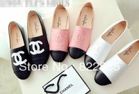 2013 autumn fashion small flat heel single shoes lacing shoes casual flat soft outsole comfortable women's shoes