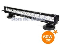 "20"" CREE LED Light Bar 60W LED Headlight Truck SUV Offroad Work Light 4WD Boat UTE ATE 4X4 LED Headlight Spot or Flood Beam"