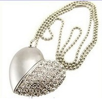 2014 new arrive 1GB  2GB 4GB 8GB USB 2.0 Jewelry Heart USB Flash Drive, Heart Pen Driver,free shipping