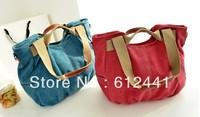 Free Shipping Fashion New Style Casual Canvas Women Handbag Lady Tote Bag Shoulder Bag