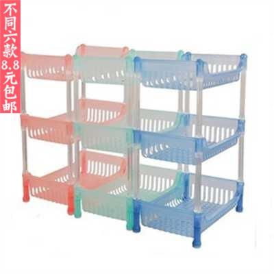 Modern Furniture New arrival simple plastic multi-purpose storage rack finishing rack shelf storage rack miscellaneously rack(China (Mainland))