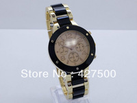 Free shipping 2013 Famous luxury brand Watch, ceramic date display Quartz watches,Fashion Wrist Watches for woman