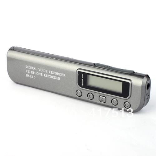 (6PCS) DHL Freeshipping Mini Digital Voice Recorder with MP3 Player + Telephone Recorder,2GB,Digital recording pen(China (Mainland))