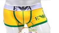 (50pcs/lot) DHL Shipping Men Sexy Underwear Boxer Shorts With Original Package 4 Colors