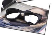 New Brand Design Cheaper Wholesale Sports Wayfarer Men and Women's Sunglasses 5 Colors Mirror Lens UV 400 Black Frames Sun Glass
