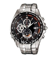 Free Shipping New EF-543D-1AV EF-543D-1A EF-543D Men's Sport Chronograph Watch 1/20 Second Stopwatch Pendulum Swing Function