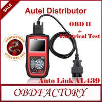 AUTEL AutoLink AL439 OBD II/EOBD Scanner OBD II + Electrical Test AutoLink AL 439  Engine Code Reader