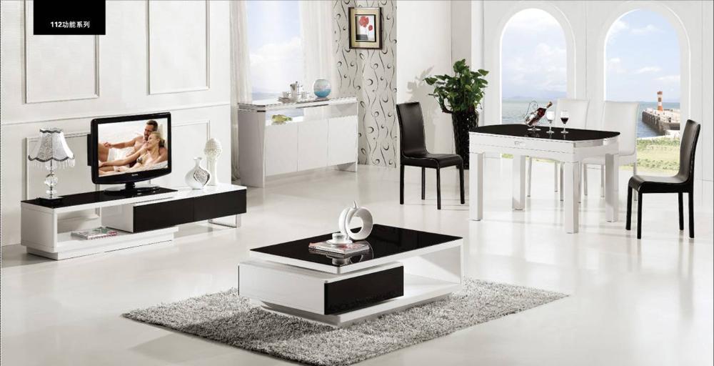 Buy high back modern leather soft bed for Set de table rigide design