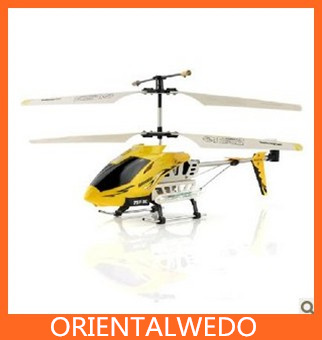 New 3.5CH RC Smart Helicopter Radio Controlled by iPhone/iPod Touch/iPad Yellow(China (Mainland))
