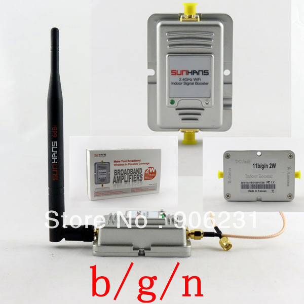 Free Shipping!2W 802.11b/g/n 150Mbps WiFi Wireless LAN Signal Booster Amplifier Repeater 2.4G(China (Mainland))