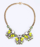 Fashion fashion accessories candy color sweet short design necklace