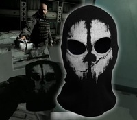 Call of Duty Ghosts 10 Balaclava Mask Logan Final Game Skull Hood Mask Props