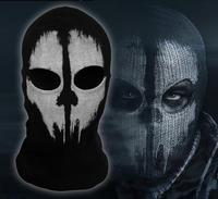 Call of Duty 10 balaclava face ghost skull mask hood biker skateboard Costume Cos 09